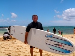 Lee Silber, still surfing after all these years.