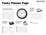 Write me at leesilber@leesilber.com for a printable vesrion of this planner page